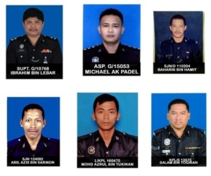 Our fallen heroes in Semporna incident. Image from NST.
