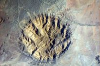 ava Carbuncle - an ancient intrusion of tough, hard rock in southwestern Africa. Quite likely also Namibia.