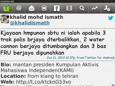 Khalid tweet