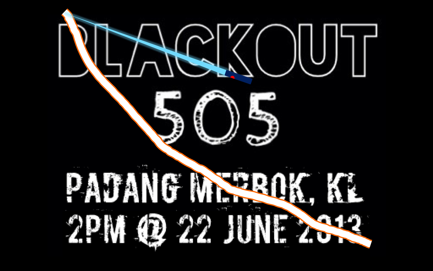 Say NO! to BLACKOUT 505