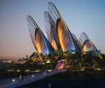 Zayed National Museum, Abu Dhabi The London-based architecture firm Foster + Partners chose the form and flight of a falcon as the inspiration for the Zayed National Museum, slated to open in 2016. (Sheikh Zayed, after whom the museum is named, is a keen falconer.) The building's steel feathers, which act as natural cooling towers, will soar as high as 410 feet from a reflecting pool.