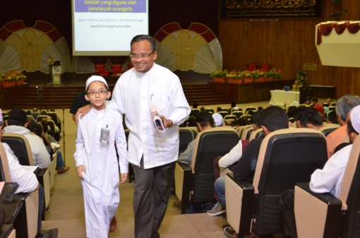 With Ustaz Nasharudin Mat Isa