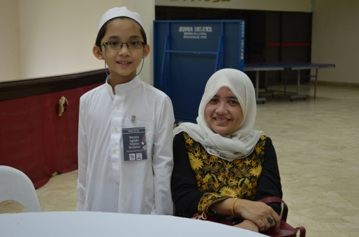 With Zahrah Binti Sulaiman