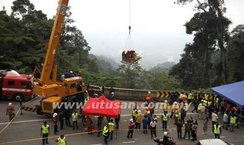 recommendation for genting highland accident Kuala lumpur: one person was killed and 15 others injured in a bus accident on the way down from genting highlands, pahang, this evening.