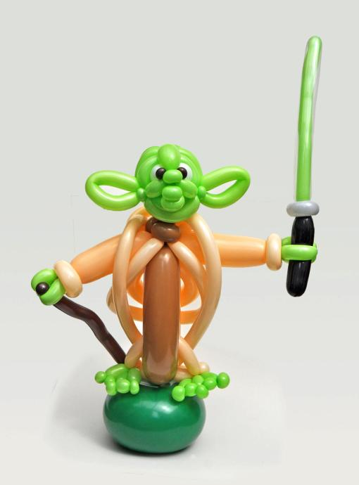 Yoda - (Rob Driscoll/CATERS NEWS)