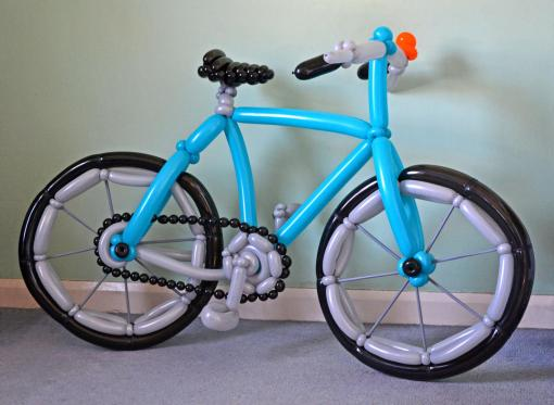 Bike - (Rob Driscoll/CATERS NEWS)