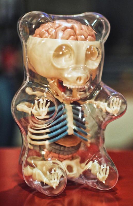 Gummt Bear. (Jason Freeny/Mercury Press & Media/Caters News)Cartoons Stripped