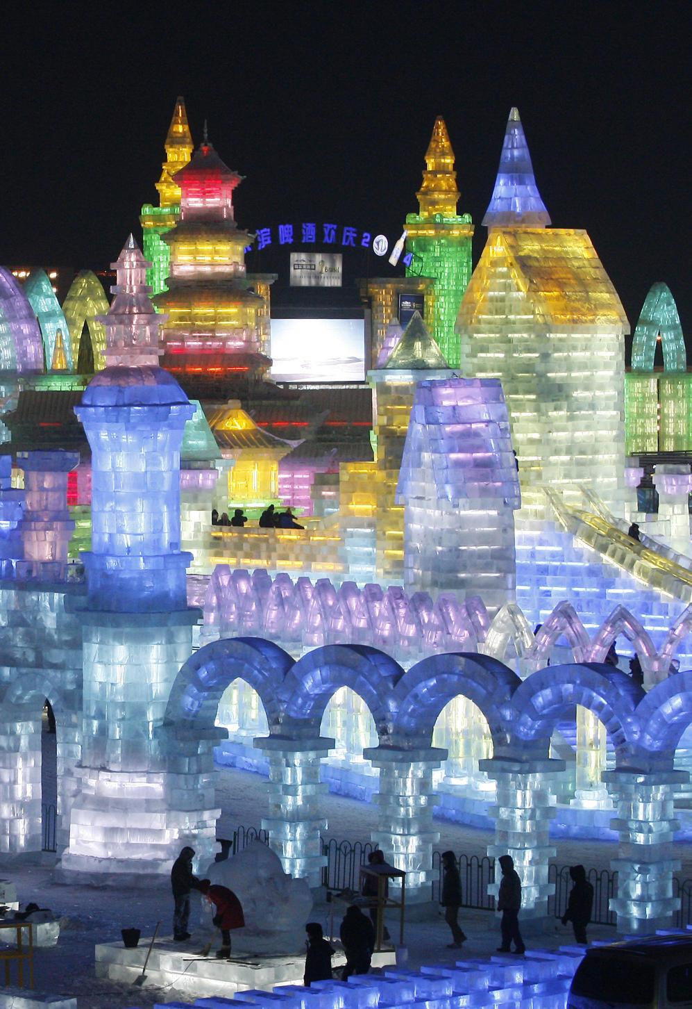 s 30th Harbin International Ice and Snow Sculpture