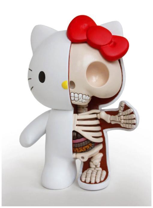 Hello Kitty. (Jason Freeny/Mercury Press & Media/Caters News)Cartoons Stripped