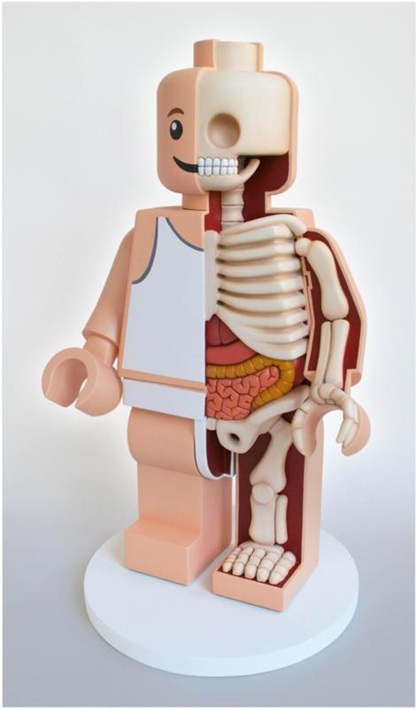 Lego Man. (Jason Freeny/Mercury Press & Media/Caters News)Cartoons Stripped