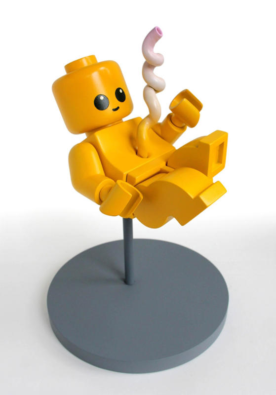 Lego man. (Jason Freeny/Mercury Press & Media/Caters News)Cartoons Stripped