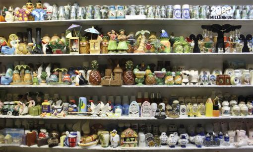 Have you ever wanted to see more than 20,000 sets of salt and pepper shakers? Course you have! This giant collection at The Salt and Pepper Shaker Museum in Gatilinburg, Tennessee, houses shakers in all shapes in sizes, including quirky panda figurines, cans of Coke and even shakers that look like nuts and bolts. The £1.80 admission ticket is a real bargain - especially as the money goes towards the cost for your own salt and pepper shaker that you can buy from the gift shop. Condiments to the curator! (AP Photo/Caryn Rousseau)