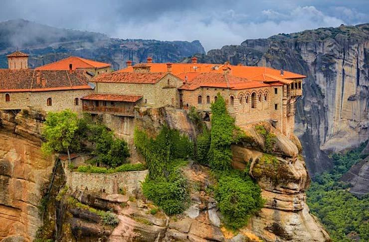 Meteora. (Photo Credit: Gabriela Insuratelu/Shutterstock)