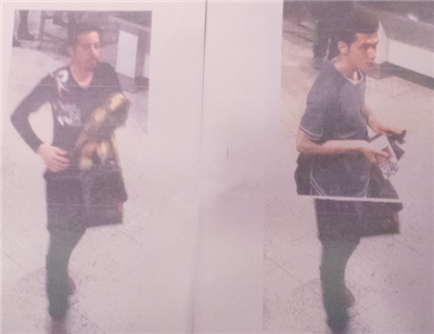 Two Iranians at KLIA who were said to be using stolen passports from Austria and Italy.