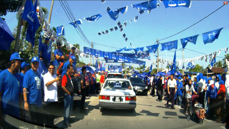 PRK Kajang - election day.