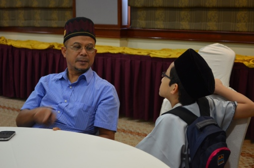 Uncle Zul answering some of my questions.