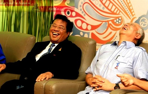 ...since he and Najib are good friends...