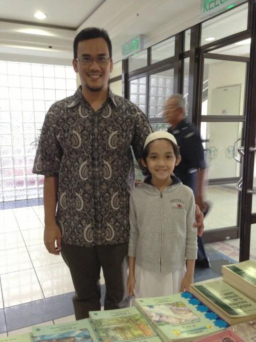 Uncle Azril and I during the Forum Islam Dan Cabaran Semasa – Polemik Isu Kalimah Allah.