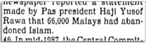 Kertas Putih Parlimen 1988