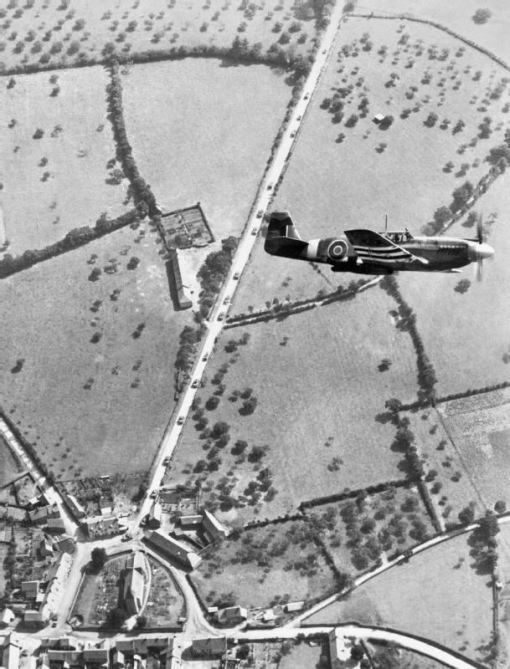 On Omaha Beach 70 years ago, US Army troops fought against the German 352nd Infantry Division. (MoD) A Royal Air force Mustang aircraft of II (Army Cooperation) Squadron in flight. II Sqn Mustangs were active on D-Day, not least in gathering imagery of the landing beaches to update commanders on the progress of the assault. (MoD) In an image taken at 800ft above the coast, French villages are left in flames as the Allied forces move in. (MoD) Troops land on Gold beach on 6 June 1944 - D-Day. This image was taken by a photo reconnaissance Mustang aircraft of II (Army Cooperation) Squadron. (MoD)