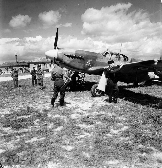 On Omaha Beach 70 years ago, US Army troops fought against the German 352nd Infantry Division. (MoD) A Royal Air force Mustang aircraft of II (Army Cooperation) Squadron in flight. II Sqn Mustangs were active on D-Day, not least in gathering imagery of the landing beaches to update commanders on the progress of the assault. (MoD) In an image taken at 800ft above the coast, French villages are left in flames as the Allied forces move in. (MoD) Troops land on Gold beach on 6 June 1944 - D-Day. This image was taken by a photo reconnaissance Mustang aircraft of II (Army Cooperation) Squadron. (MoD) A Mustang aircraft of II (Army Cooperation) Squadron is prepared for a mission over Normandy as part of Operation Overlord on D-Day. (MoD)
