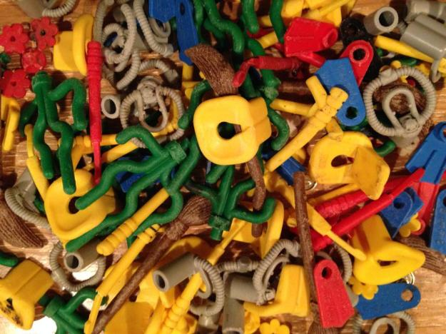 Lego pieces have been turning up on British beaches since 1997. (Tracey Williams/LegoLostAtSea)