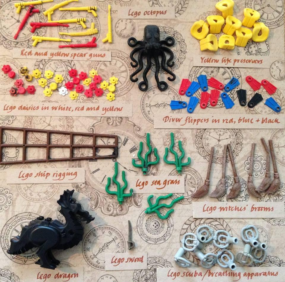 A guide to Lego pieces collected from U.K. beaches (Tracey Williams/LegoLostAtSea)