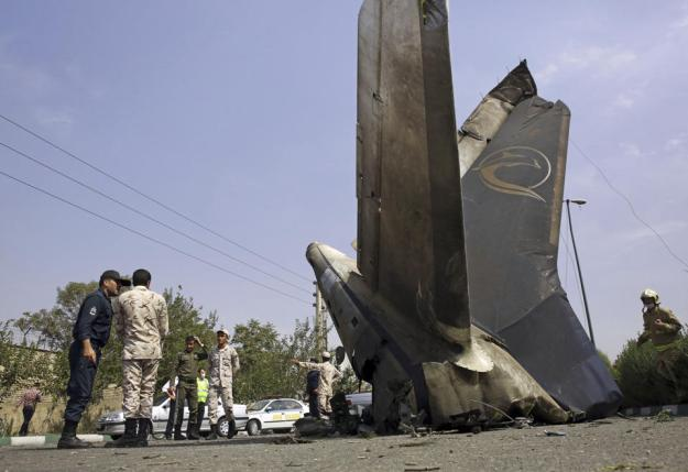 Passenger Jet Crash In Tehran Kills 48 People