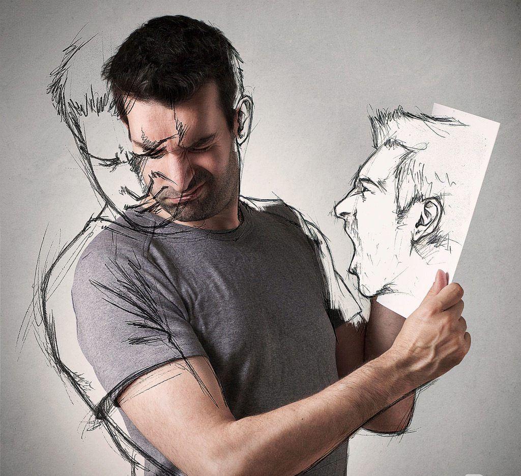 Creative part photo and art sketch by sebastien de grosso for Artiste dessin