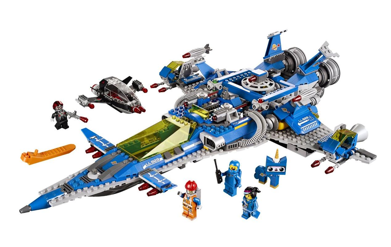 Benny's Spaceship, Spaceship, SPACESHIP! (Model #70816). Who could have predicted the Lego movie would be so good? A slew of sets based on the hit flick descended on stores this year, and this spaceship (spaceship, SPACESHIP!) is one of the best. A great set in its own right, it'll appeal to older Lego fans with its 1980s style.