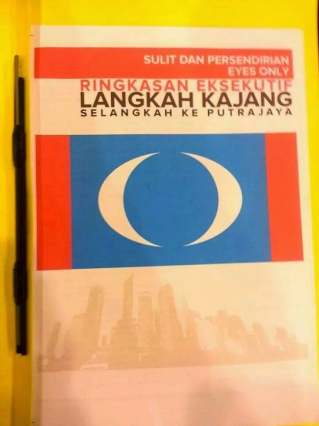 Langkah Kajang secret document? Credits to mymassa.