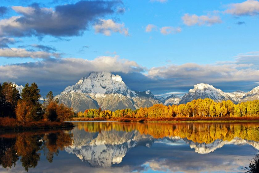 Memorable: The Grand Teton National Park in Wyoming is a sight to behold. (Caters)
