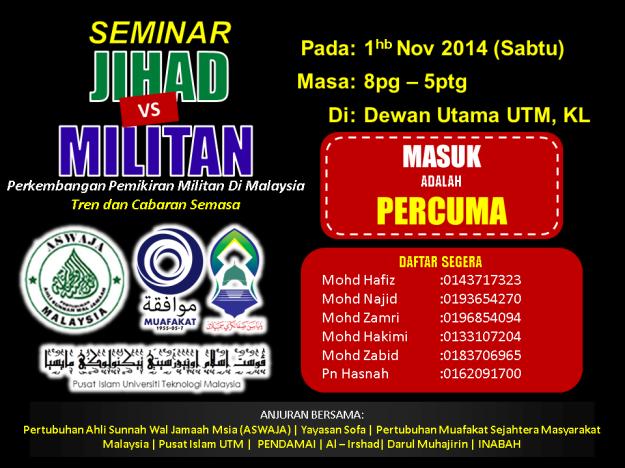 Seminar Jihad VS Militan