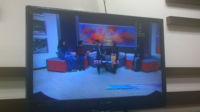 Live on air on TV AlHijrah's Assalamualaikum, Sunday, Dec. 28, 2014.