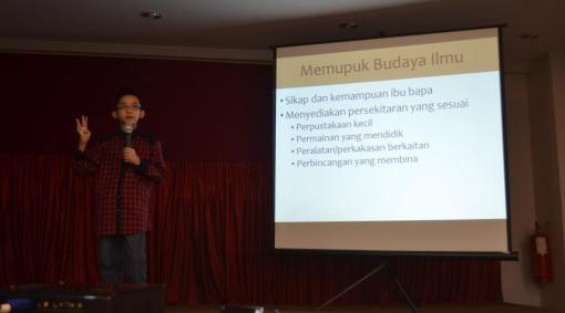 I was giving my speech on Freedom of Speech.