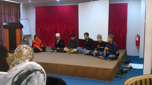 The wonderful Qasidah group fro  Terengganu.