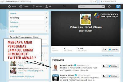 A once popular screenshot from Jacel Kiram's twitter page.