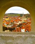 Alexia Saigh, 14, took this image of an archway in the Czech town of Cesky Krumlov. (Picture: Alexia Saigh/National Geographic)