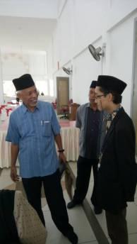 Talking with Tan Sri Shahrir.