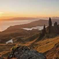 """""""A spectacular sunrise at the old man of storr, on the isle of skye, scotland."""" (neil@njphotographic.co.uk JACKSON/ National Geographic Nature Photographer of the Year contest)"""
