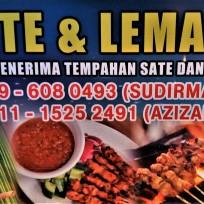 Sudirman/Azizah satay stall in Pedas, a small town in Negeri Sembilan.