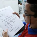 AHMAD Ali Karim, 15 menulis blog politik dan perlembagaan sejak berumur 5 tahun. – Foto Rosela Ismail